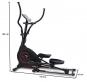BH Fitness EasyFlex počítač rozměry