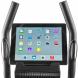 TUNTURI Cardio Fit C30 Crosstrainer Rear pc s tabletem